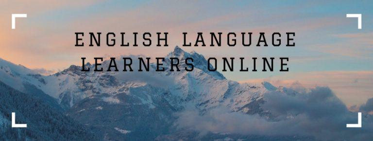 english language learners online facebook grup