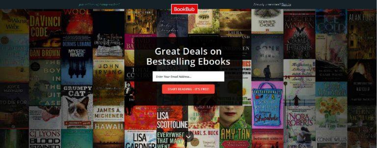 how to get free ebooks - business english success - bookbub