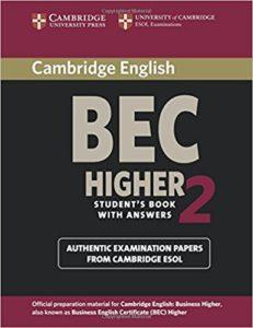 business english success - bec higher exam book2