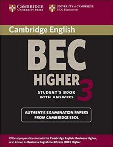 business english success - bec higher exam book3