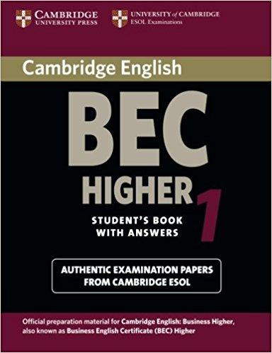 business english success - bec higher exam book1