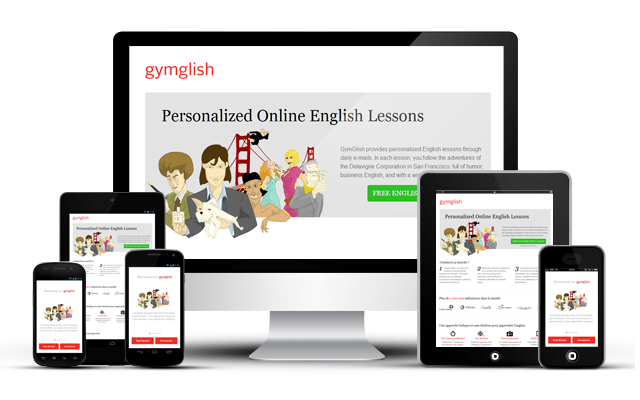 Gymglish Review - business english success