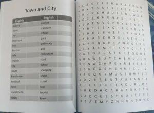 Word Search Puzzles for English Language Learners