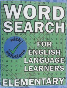 Word Search Puzzles for English Language Learners Cover